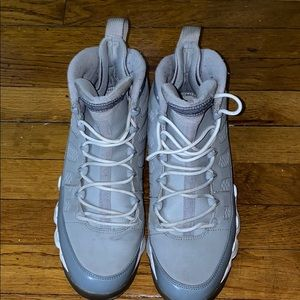 Men's Jordan's  Cool Grey 9s